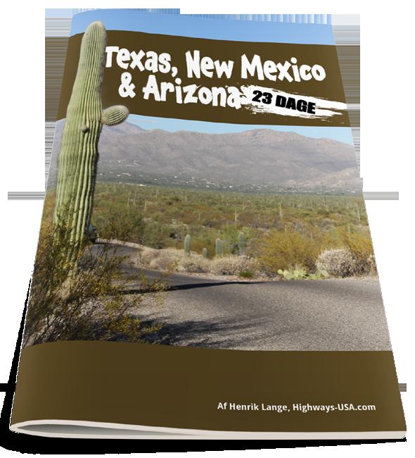NYHED: 23 dages rejseplan til Texas, New Mexico og Arizona