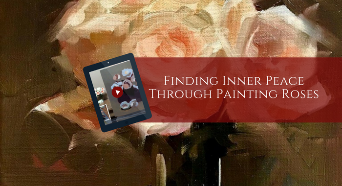 Finding Inner Peace through Painting Roses