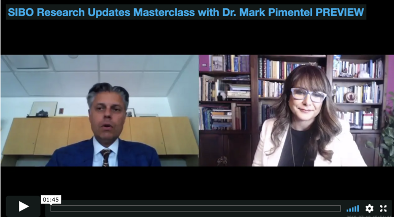 Cutting Edge Developments in Post-Infectious IBS and SIBO Masterclass and Q&A with Dr. Pimentel