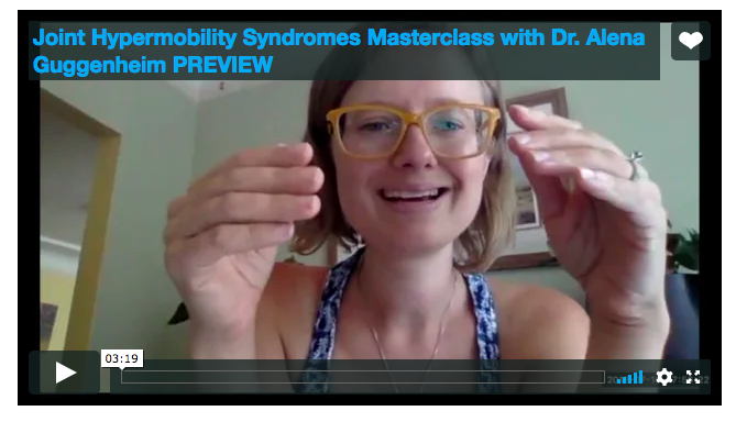 Joint Hypermobility Syndromes Masterclass with Dr. Alena Guggenheim