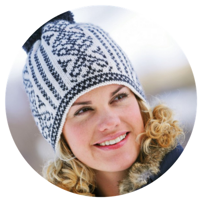 FREE COURSE and Pattern: Sandnes Traditional Norwegian HAT