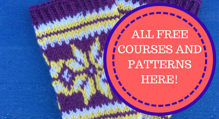 ALL OF THE FREE COURSES AND PATTERNS!