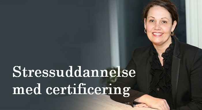 Stressuddannelse med certificering