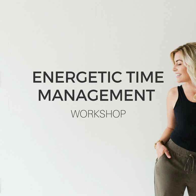 Energetic Time Management