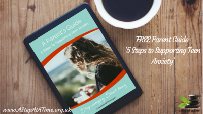Ebook - 5 Steps to Supporting Teen Anxiety