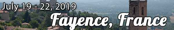 2019 Bootcamp | Fayence, France - July 19 - 22, 2019