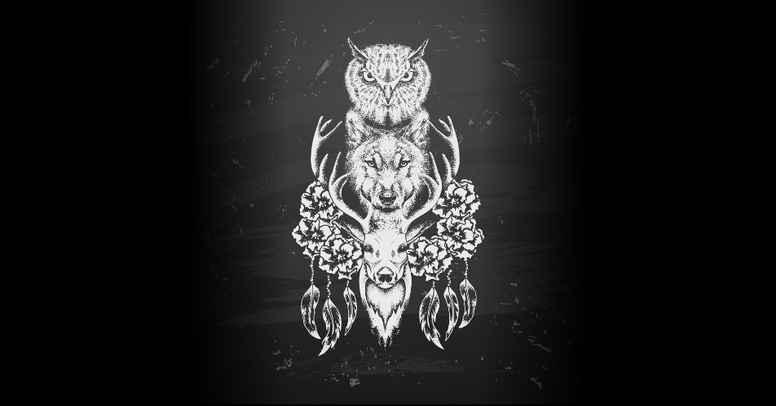 Shamanistisk kontakt med totemdyrenes kraft