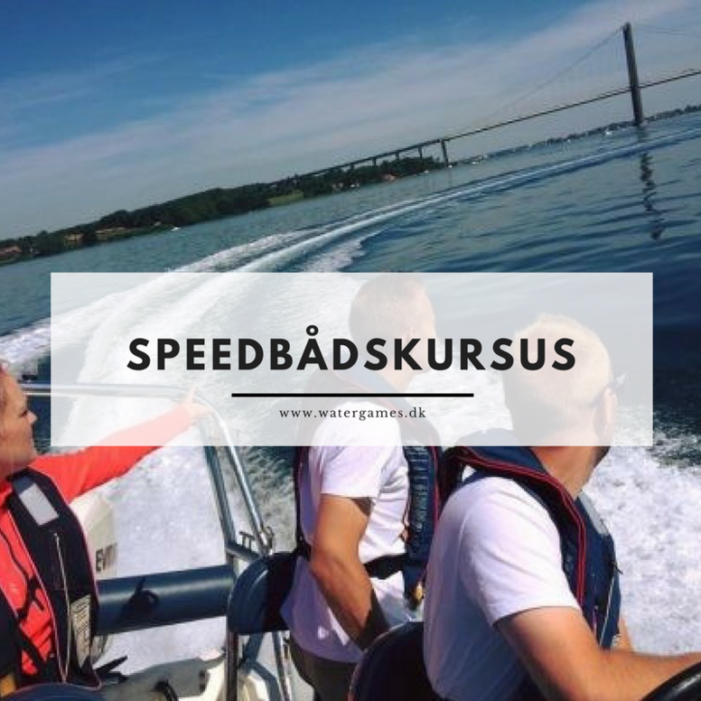Speedbådskursus: 13. august - kl. 16-20.30 - Rungsted