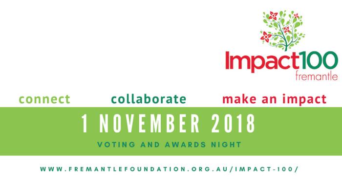 Impact100 Fremantle Voting & Awards Night 2018