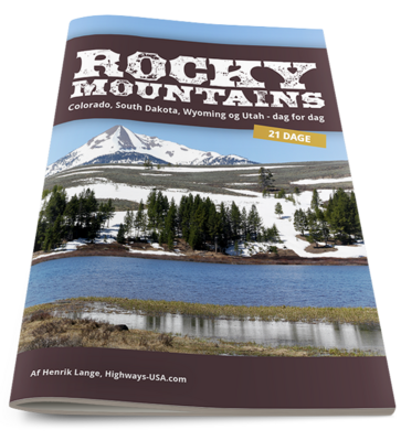NYHED: 21 dages rejseplan til Rocky Mountains inkl. Yellowstone