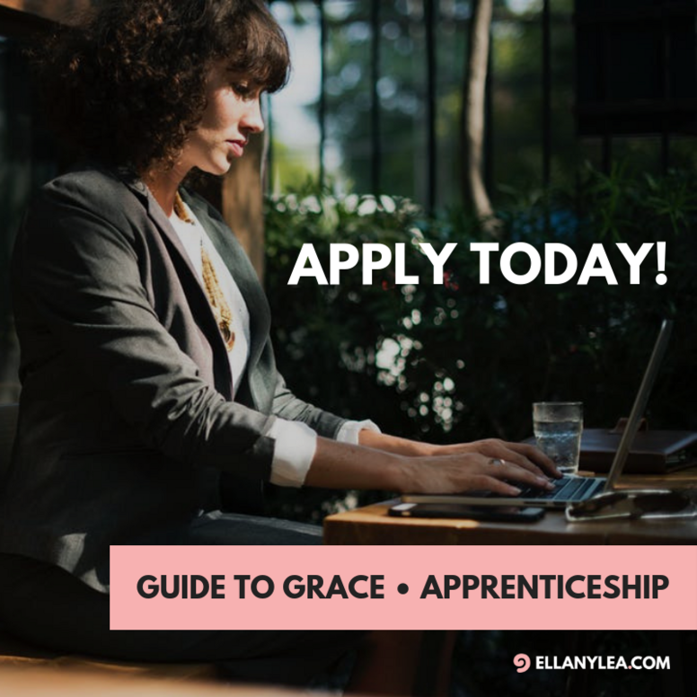 Guide to Grace • Apprenticeship
