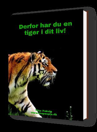 3D cover - Derfor har du en tiger i dit liv