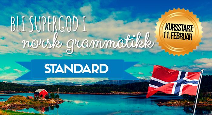 Bli supergod i norsk grammatikk (standard)