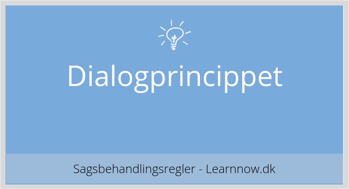 Dialogprincippet