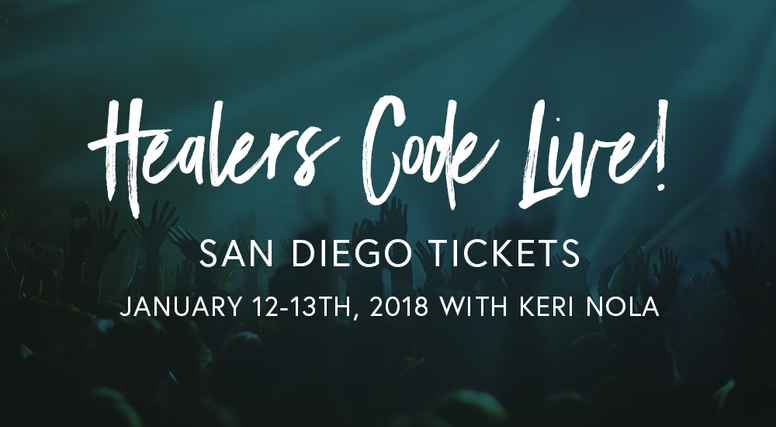 Healers Code Live San Diego 2019