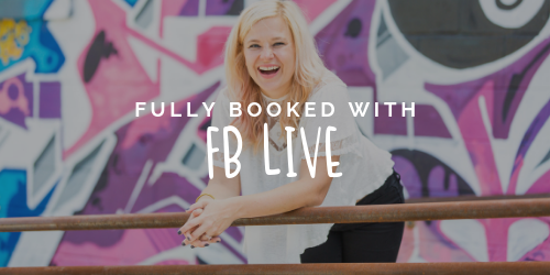 Fully Booked with FB Live