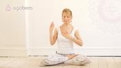 Medytacja czwartej czakry. Czas filmu: 4 min 39 sek