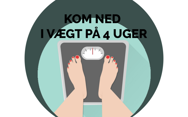 Vægtreducerende kostplan - 4 uger