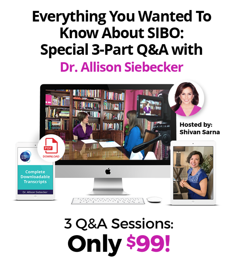 3 live Q&A sessions with Dr. Allison Siebecker - recordings