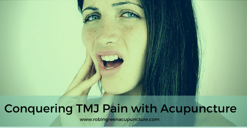 TMJ Pain with Acu
