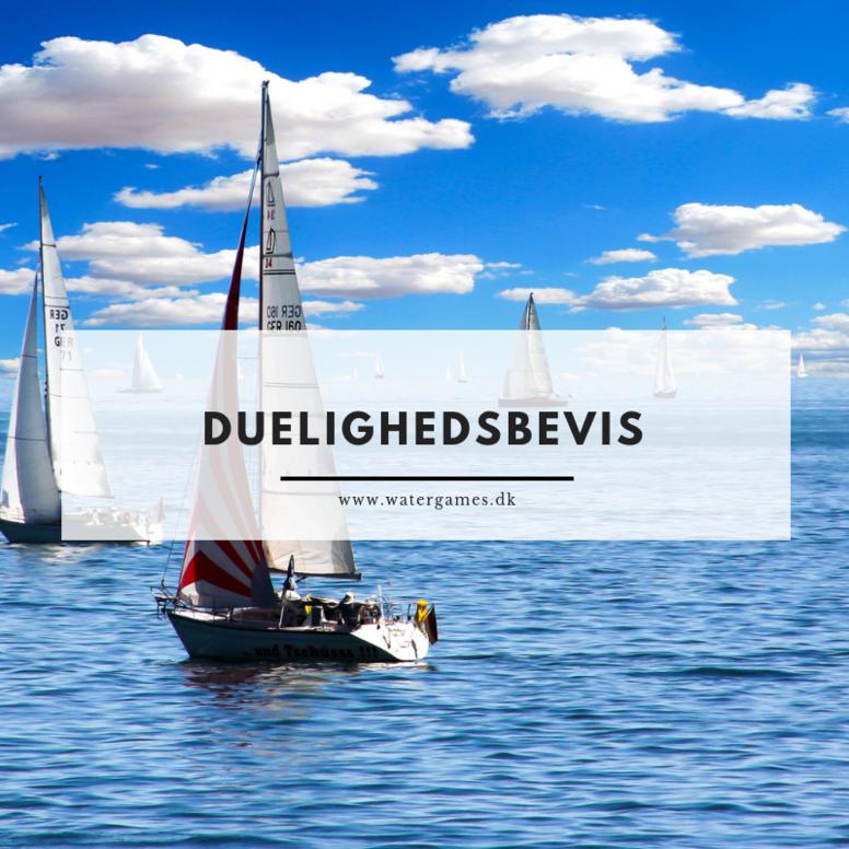 Duelighedsbevis 16/8 - 18/8  - Aalborg