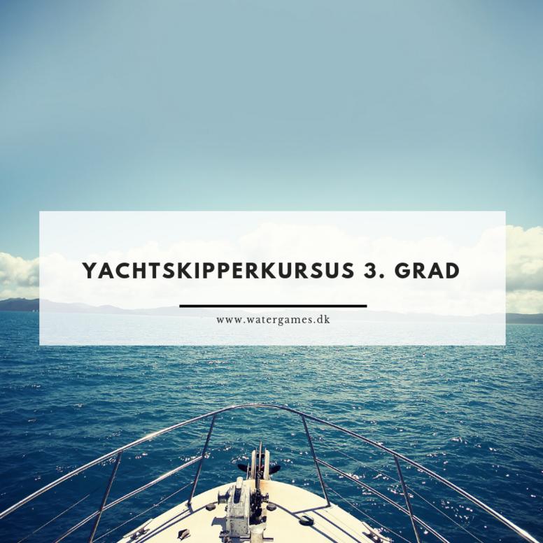 Fjernkursus - Yachtskipper af 3. grad fra 07.  maj 2021
