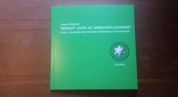 Værdsat leder af arbejdsfællesskabet Lederpixi grøn
