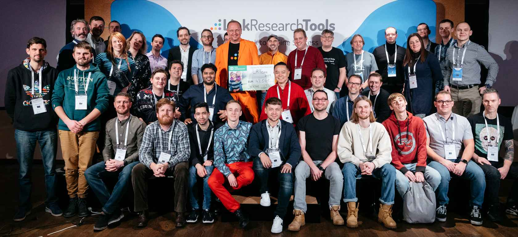 LRTcon 2019 donated EUR 43.545 to SOS Kinderdorf