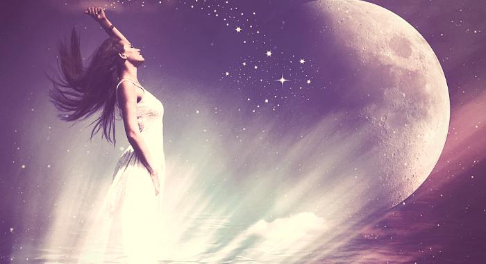 Øg din feminine kraft - dit modtagecenter - Healings-meditation med Chiara Sofia