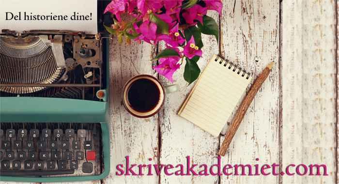 Lær å skrive en roman! Kursstart 20. april 2021