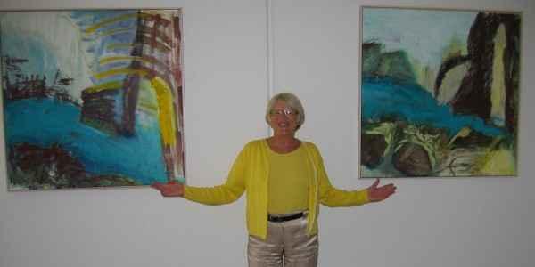 Maleri til Brake System Svendborg - af kunstmaler Anne Grethe Pind