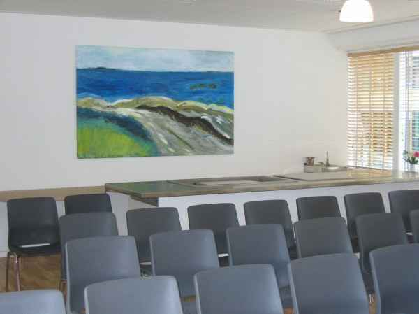 Plejecenter Deborah - Maleri af Anne Grethe Pind