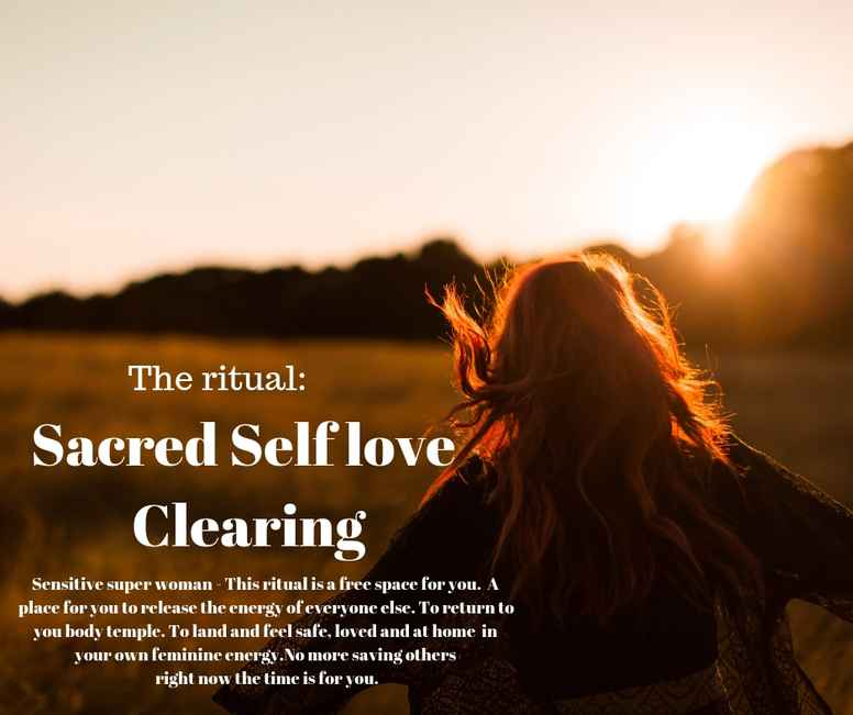 Sacred Self love Clearing