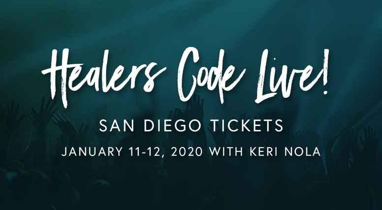 Healers Code Live San Diego