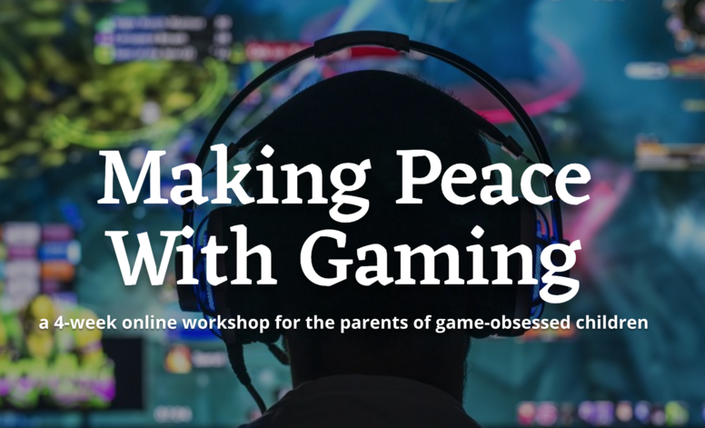 Making Peace With Gaming