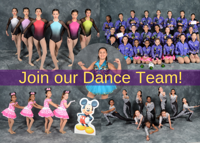 Join our Dance Team front page 5x7