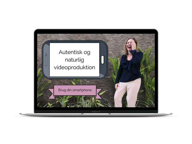Autentisk video produktbillede