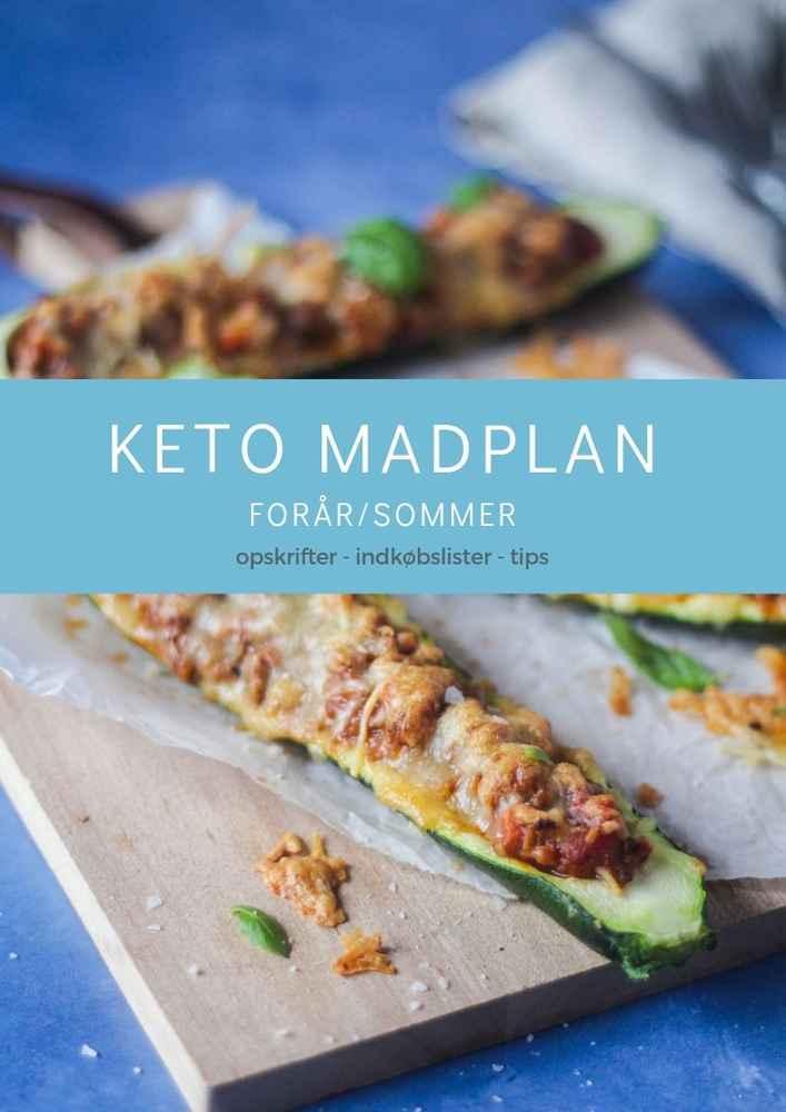 KETO Madplan Forår/sommer