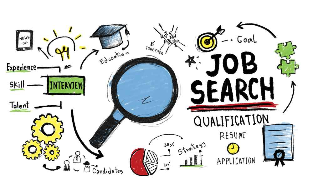 Jobbsøk - tegning