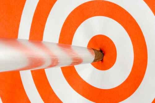 Selvværd bullseye