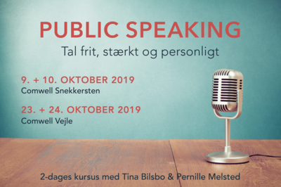 PUBLIC SPEAKING 'okt. 19, Nordsjælland
