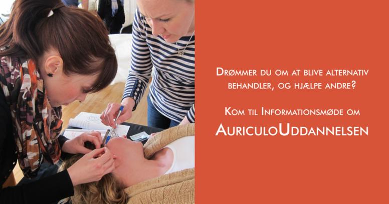 Informationsmøde AuriculoTerapi / Øre Akupunktur Uddannelsen