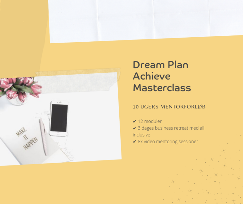 Dream Plan Achieve Masterclass
