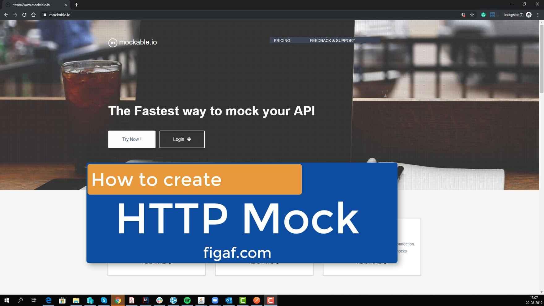 Create HTTP mock for SAP CPI (Time 0_00_00;00)