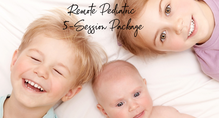 5 Package of Remote Pediatric Sessions