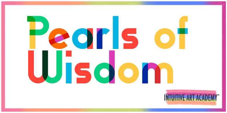 Pearls of Wisdom Intuitive Art Workshop