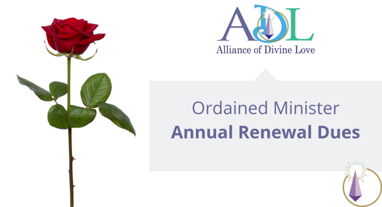 ADL Minister Annual Dues