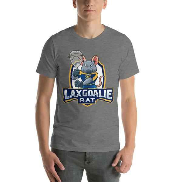 Lax Goalie Rat T-Shirt - Shield Logo