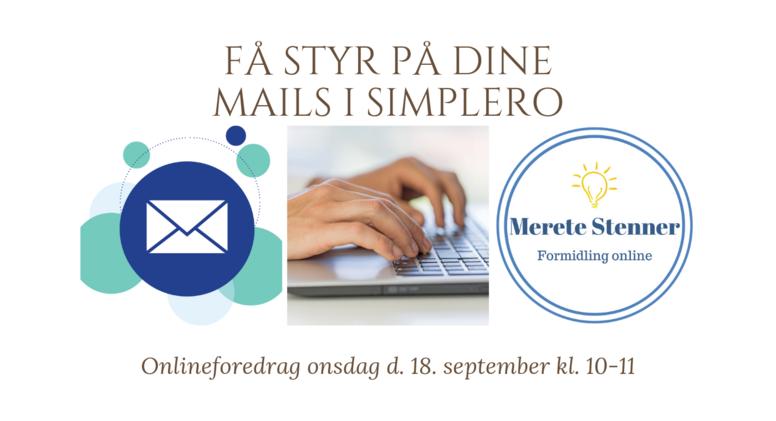 Få styr på dine mails i Simplero