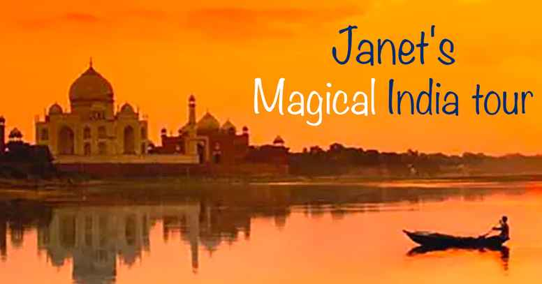 Janet's Magical India tour (2nd week only)